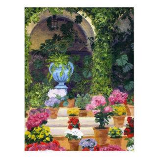 Spanish Courtyard Postcards