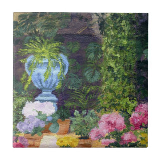 Spanish Courtyard) Small Square Tile