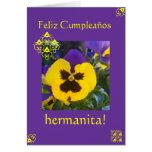 Spanish: Cumpleaños! Birthday Greeting Card