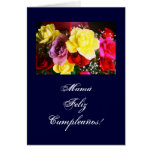 Spanish: Cumpleanos de la Mamá /Mom's b-day/ Card