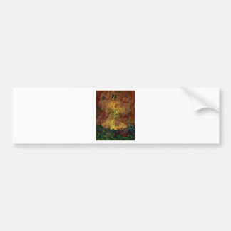 Spanish dancer in terra cotta bumper sticker