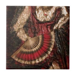 Spanish Dancer Tile