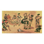 Spanish Dancers, 1862 Posters