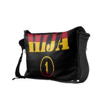 Spanish Daughters : Hija Numero Uno Messenger Bags