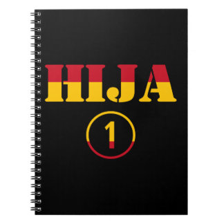 Spanish Daughters : Hija Numero Uno Spiral Notebook