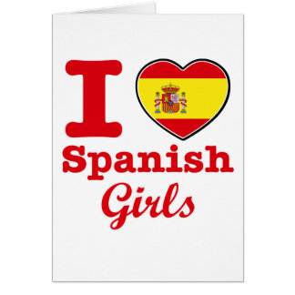 Spanish design card