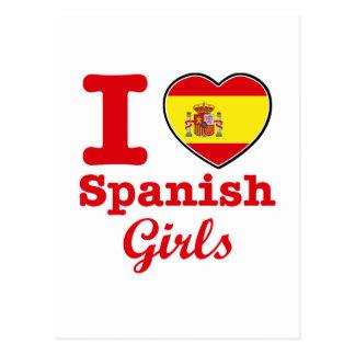 Spanish design postcard