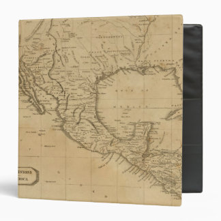 Spanish Dominions in North America 3 Ring Binder