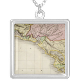 Spanish dominions in North America, southern part Silver Plated Necklace