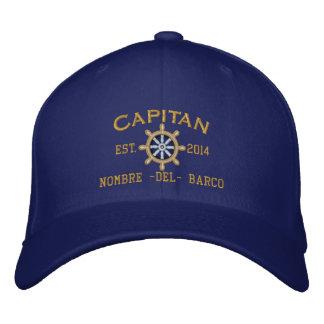 SPANISH El Capitan Su ubicación Nombre del barco. Embroidered Baseball Hat