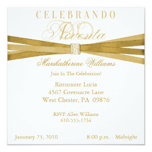 Spanish 5x5 Birthday Invitations Zazzle