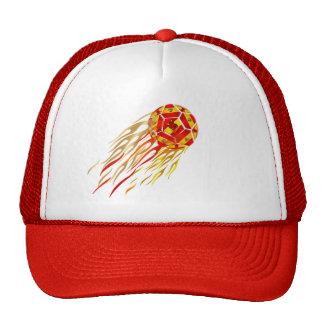 Spanish Fireball soccer futbol lovers soccer ball Trucker Hat