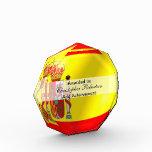 Spanish Flag Acrylic Award