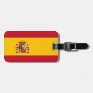 Spanish Flag Bag Tag
