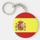 Spanish Flag Bandera Española Keychains
