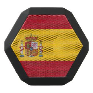 Spanish flag black bluetooth speaker