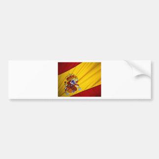 Spanish Flag Bumper Sticker