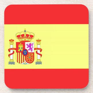 Spanish Flag Beverage Coaster