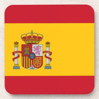 Spanish Flag Drink Coaster