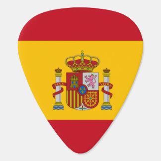 Spanish flag guitar pick