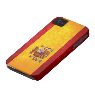 Spanish Flag iPhone 4 Case-Mate Case
