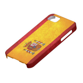 Spanish Flag iPhone SE/5/5s Case