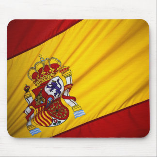 Spanish Flag Mouse Pads