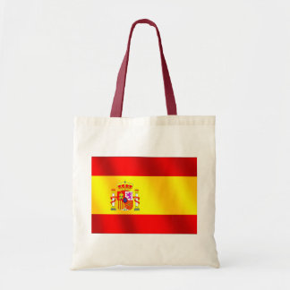 Spanish flag of Spain gifts for Spaniards Canvas Bags