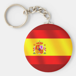 Spanish flag of Spain gifts for Spaniards Keychain