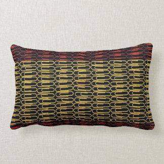 Spanish Flag Paperclip  Lumbar Pillow