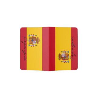 Spanish flag passport holder   Spain pride