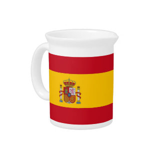 Spanish Flag Pitcher