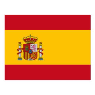 Spanish Flag Postcard