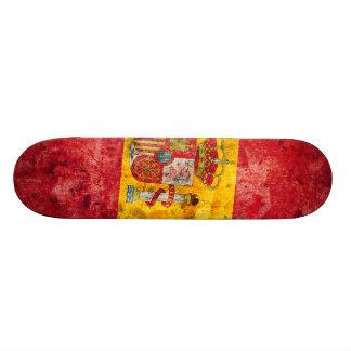 Spanish Flag Skateboard Deck