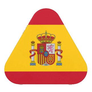 Spanish flag speaker