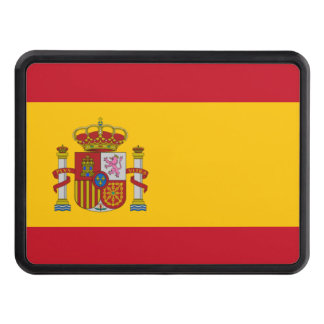 Spanish flag trailer hitch cover