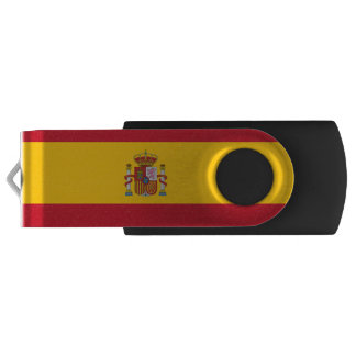 Spanish flag USB flash drive