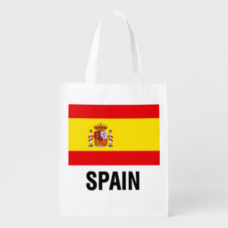 Spanish Flag Grocery Bags