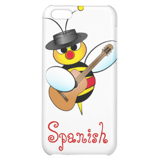 Spanish Flamenco bee Cover For iPhone 5C