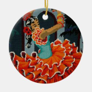 Spanish Flamenco Dancer Ornament