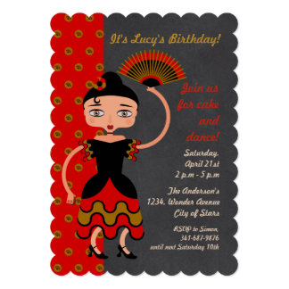 Spanish Birthday For Girl Cards Greeting Photo Cards Zazzle - Birthday party invitation in spanish