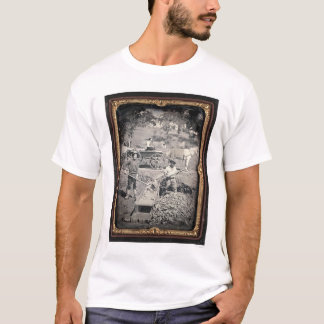 Spanish Flat, 1852 by Joseph Blaney Starkweather T-Shirt