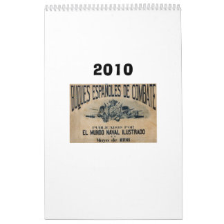 Spanish fleet 1898 calendar
