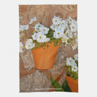 Spanish Flowers American MoJo Kitchen Towel