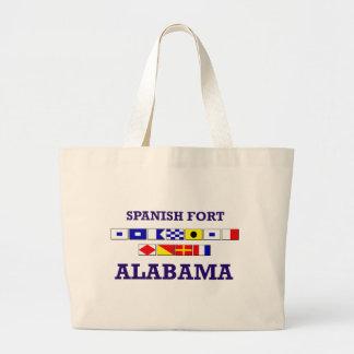 Spanish Fort Flag Bag