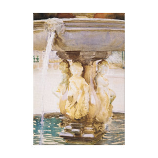 Spanish Fountain Canvas Print