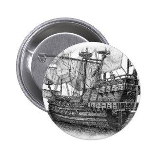 Spanish Galleon Pin