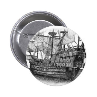 Spanish Galleon Pin