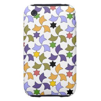 Spanish Geometric Pattern - White Tough iPhone 3 Case