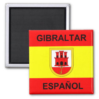 Spanish Gibraltar Magnet